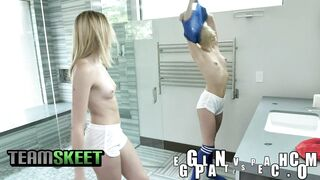 After workout shower. - 30 Seconds