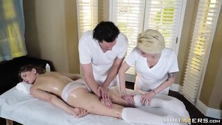 Yeah, I gotta get my masseusing license... - Porn Starlet