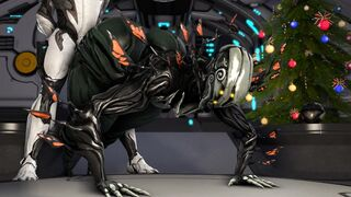 oberon getting it from behind - Warframe