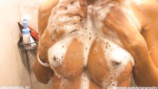 Petite Soapy Tits