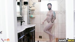 How I enter the shower when no one is around. - Funny