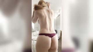 Me and my thong - Nude Selfies