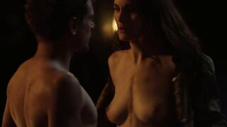 Naked Celebrities: The breathtaking Michelle Dockery lastly shows her melons on screen