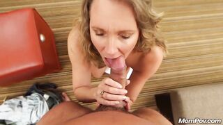 Hot milf makes love to his cock! - MILFs