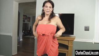 Busty Charlee Chase reveals her breasts - Hot Milfs