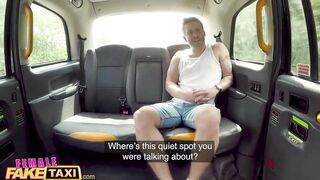 Female Fake Taxi - Lets Go Somewhere Quiet