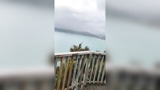 Daddy defiantly enjoying his view but not as much as I'm enjoying mine ?? - Fucking/Nudity Outdoors