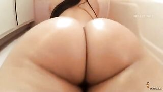 Hat Butt Oriental Gals: Wet Oriental ass begging to be pounded